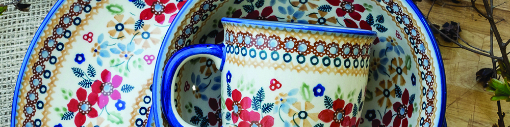 Polish Pottery for Weddings