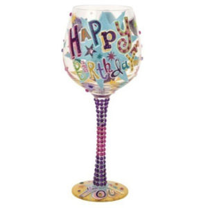 Lolita Birthday Wine Glass