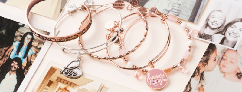 Alex and Ani Cuffs Header